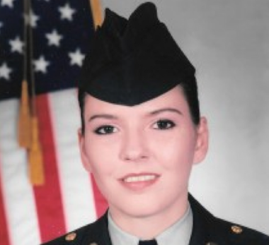 Picture of Felicia Reeves in her Army uniform. Reeves, 40, a military veteran, was found hanging in the bathroom of the room in the Royal Motel in Elizabeth on Aug. 28, 2015. Police ruled the death a suicide, but Reeves' family said many questions remain unanswered. (Photo from Reeves' family)
