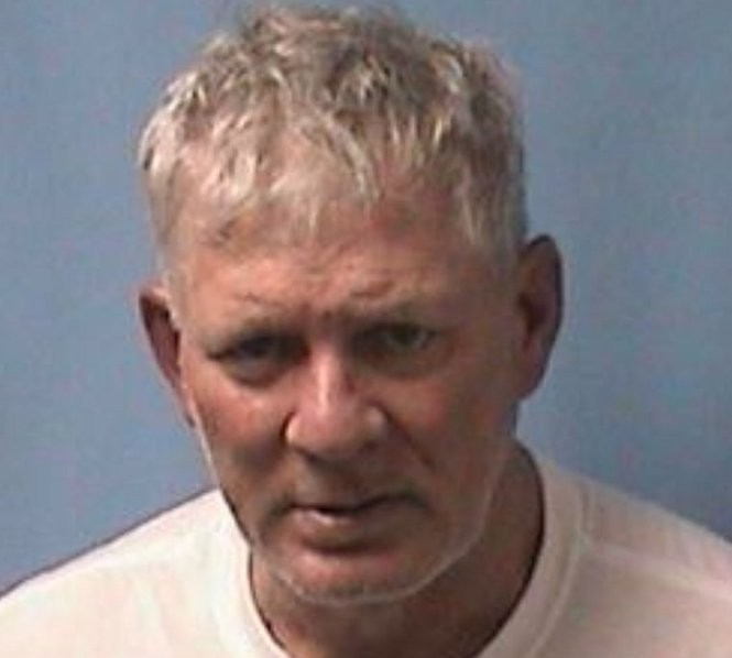 The mugshot of Lenny Dykstra, former Mets and Phillies outfielder. (Courtesy Linden police).