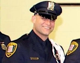 Hillside officer Giovanni Esposito