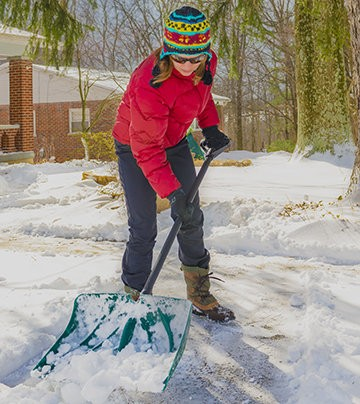 With winter here, it is important to approach activities, such as shoveling snow, carefully.