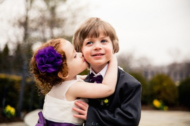 Ava and Sean Colletti, the youngest members of the bridal party of Jessica Rylick and Jeffrey Tremble. (Dennis Pike Photography)