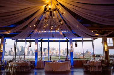 Liberty House Restaurant is located on the Jersey City waterfront and boasts a view of the New York City skyline. (George Koroneos/GLK Creative)
