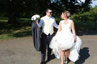 Gary Bifano and Christina McNulty chose to wed on Aug. 15, a date close to the anniversary of their first meeting. (Absolute Celebrations)