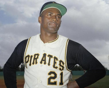 Hall of Fame right fielder Roberto Clemente, pictured in 1967, hit .317 with 3,000 hits playing for the Pittsburgh Pirates from 1955-72. (AP photo)