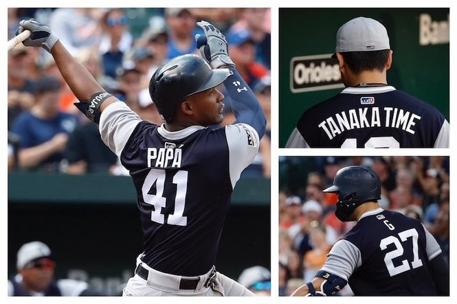 premium selection 43f78 310d4 A look at Yankees in Players' Weekend jerseys (and how they ...