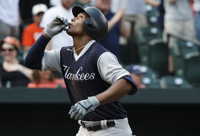 premium selection 7c2ed 1315a A look at Yankees in Players' Weekend jerseys (and how they ...