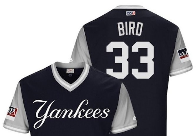 A look at Yankees in Players  Weekend jerseys (and how they fared in ... 186e6b3b130