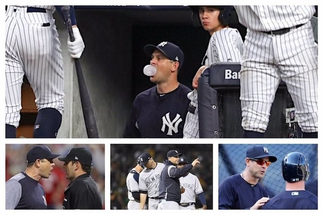 Missing Joe Girardi Grading Yankees Aaron Boone In All