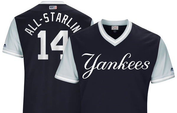 official photos 6925d a5cb6 What nicknames will Yankees wear on alternate uniforms ...