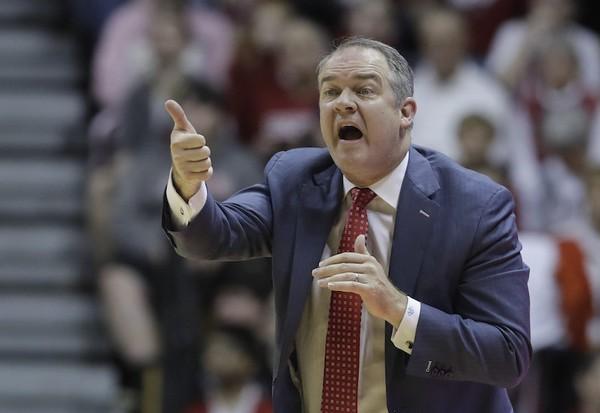 Rutgers head coach Steve Pikiell will lead his team in the Big Ten Tournament. (AP Photo   Darron Cummings)