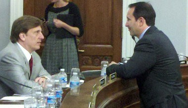 Reps. John Fleming, left, and Jeff Landry are both considering a run against Sen. Mary Landrieu in 2014.