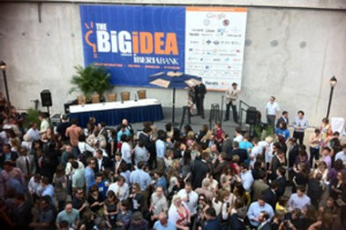 The Big Idea Challenge is the culminating event of The Idea Village's New Orleans Entrepreneur Week. In 2013, the festival for entrepreneurship takes place in March at Gallier Hall, with 3,000 participants expected.