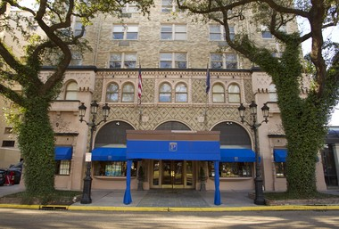 The Pontchartrain, a senior living residence on St. Charles Avenue, was the location of the famous hotel. It was photographed on Tuesday, February 15, 2012.