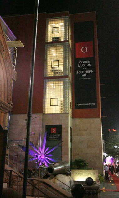 A view of the Ogden Museum of Southern Art on October 26, 2013. (Photo by Peter G. Forest)