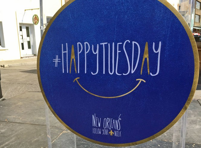 The latest New Orleans Tourism Marketing Corp. campaign, named #HappyTuesday, seeks to boost weekday visits to the city. (Photo by Jennifer Larino, NOLA.com   The Times-Picayune)