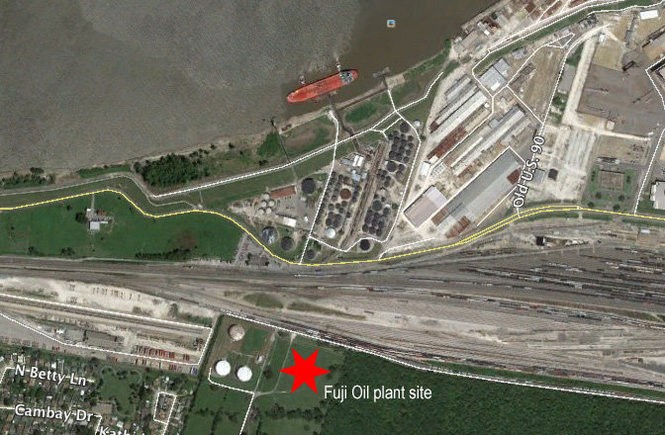 Fuji Oil will building a $70 million processing facility near Avondale Shipyards, state and Jefferson Parish officials announced Wednesday, March 15, 2018.