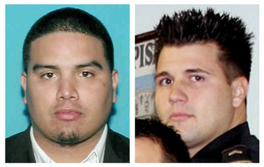 Erik Nunez, left, and Brandon Licciardi, right, were indicted Friday (Dec. 12) along with former Saints safety Darren Sharper on charges of aggravated rape handed down in a state grand jury indictment.
