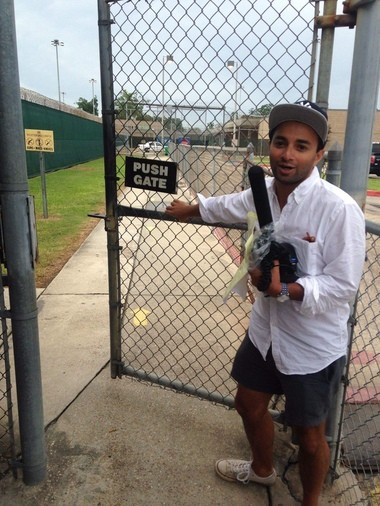 WWNO reporter Ryan Kailith was released from jail Sunday, July 10, following his arrest at a protest Saturday.