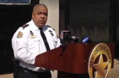 NOPD Superintendent Michael Harrison updates reporters on the Nov. 27 Bourbon Street mass shooting that left one dead and nine wounded.