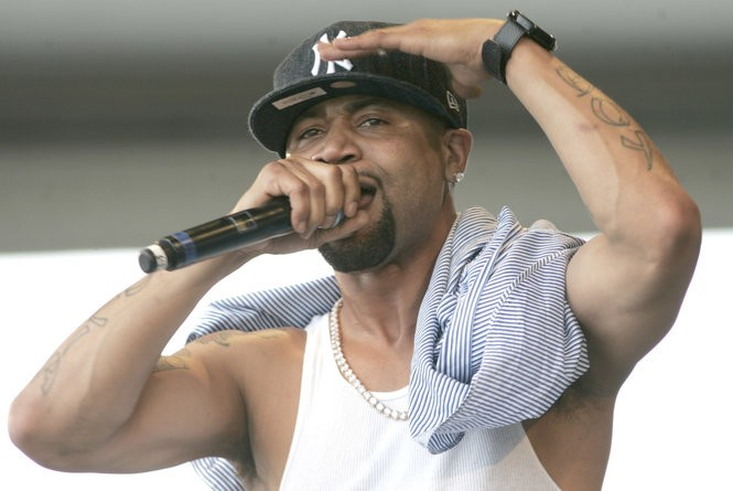 Rapper Juvenile performs at Congo Square during the New Orleans Jazz and Heritage Festival, Sunday, May 2, 2010.