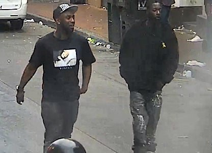 Two French Quarter robbery suspects are shown in a photograph released Saturday by the New Orleans Police Department.