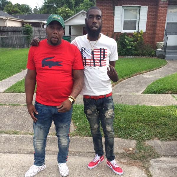 Jeremiah Lee, 28, at right, was one of three people killed in a mass shooting that wounded seven others on Saturday, July 28, 2018. He is pictured with his brother, Jehmil Hill. (Courtesy of Jehmil Hill)