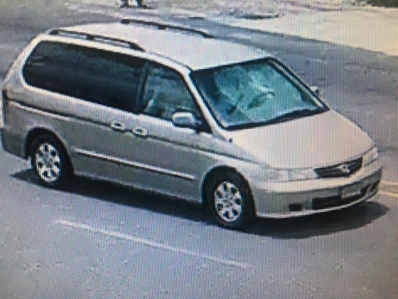 Police believe the pictured white van has been used in a tire-repair scam targeting elderly Algiers residents.