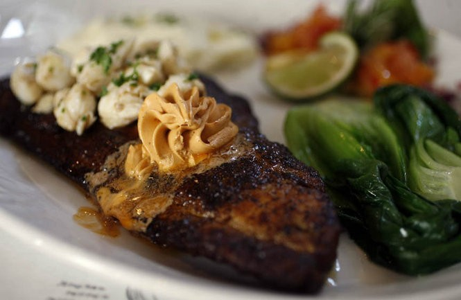 Blackened Gulf fish is still a popular dish at K-Paul's Louisiana Kitchen on Chartres Street. (NOLA.com | The Times-Picayune Archive)