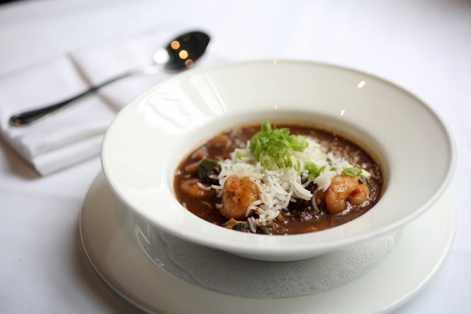 Seafood gumbo at Brennan's (NOLA.com l The Times-Picayune archive)