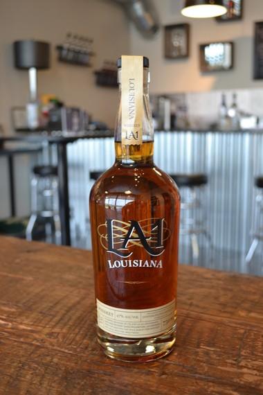 LA 1 Louisiana Whiskey from Donner-Peltier Distillers in Thibodaux.