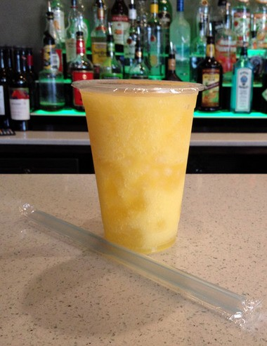The bubble tea drinks at Namese include a mango drink with pineapple- and coconut-infused Bacardi rum. (Photo by Laura McKnight, NOLA.com   The Times-Picayune)