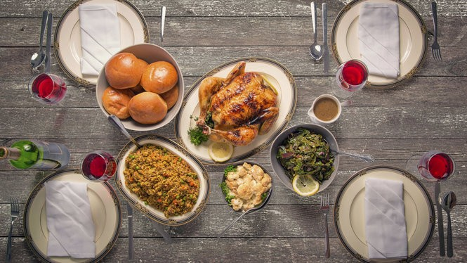 Dan Davis of Commander's Palace says: All of the flavors of a traditional roasted (or fried!) turkey 'nearly beg for' a full bodied dry rose or a light to medium bodied red wine. (Photo from Momentous Photo, istock)