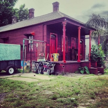 The Red House at 2820 St. Claude Ave.