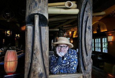 In addition to being the author of a series of books on tiki drinks, tiki culture expert Jeff 'Beachbum' Berry runs the Polynesian-themed Latitude 29 gastropub in the lobby of the Bienville House Hotel on North Peters Street. (File image)
