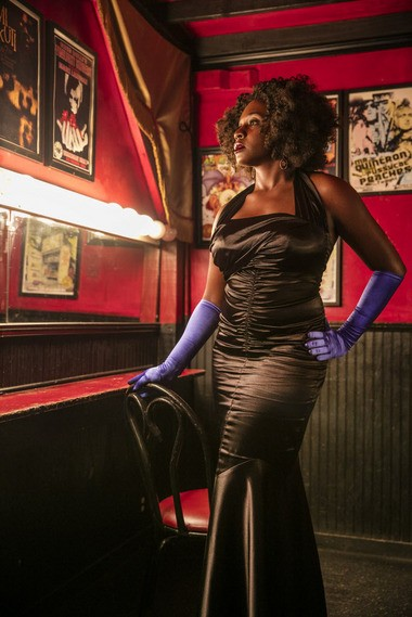 'What I'd like to see with burlesque is more diversity, and not just in performers of color but also in sizing and different styles and techniques,' said Blu Reine, producer of 'The Roux: A Spicy Brown Burlesque Show,' and photographed in the dressing room at One Eyed Jacks in New Orleans on Tuesday, September 8, 2015. (Photo by Chris Granger, Nola.com | The Times-Picayune)