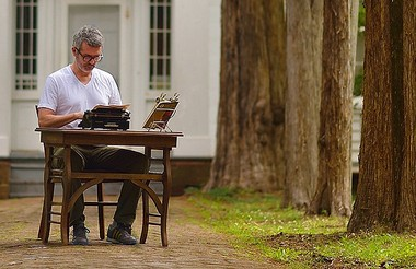 Tim Youd performing William Faulkner's 'The Sound and the Fury' at the Faulkner House in Oxford, Mississippi, June 2014 (Photo by Robert Jordan/Ole Miss Communications, courtesy The New Orleans Museum of Art)