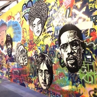 StudioBE, artist Brandan Odums' graffiti-style solo exhibit opens Wed, Feb. 24 (Photo by Doug MacCash / NOLA.com | The Times-Picayune)