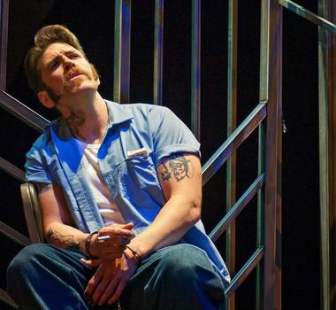 Baritone Michael Mayes as death row inmate Joseph De Rocher in Opera Parallele's 2015 production of 'Dead Man Walking' 3 (Photo by Steve DiBartolomeo, courtesy Michael Mayes)