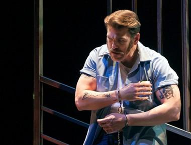 Baritone Michael Mayes as death row inmate Joseph De Rocher in Opera Parallele's 2015 production of 'Dead Man Walking' 4 (Photo by Steve DiBartolomeo, courtesy Michael Mayes)