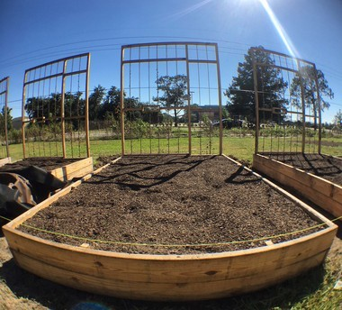 'Solitary Gardens' includes a row of six by nine-foot garden raised beds that are the size of solitary confinement cells - 2 (Photo by Doug MacCash / NOLA.com | The Times-Picayune)