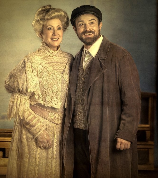Leslie Castay and Kevin T. Murphy co-star as Mother and Tateh in 'Ragtime.'