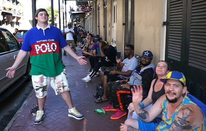 Skate rats and sneakerheads lined up for hours Sept. 15 for a new New Orleans-style Nike skateboard shoe. (Photo by Doug MacCash, NOLA.com | The Times-Picayune)