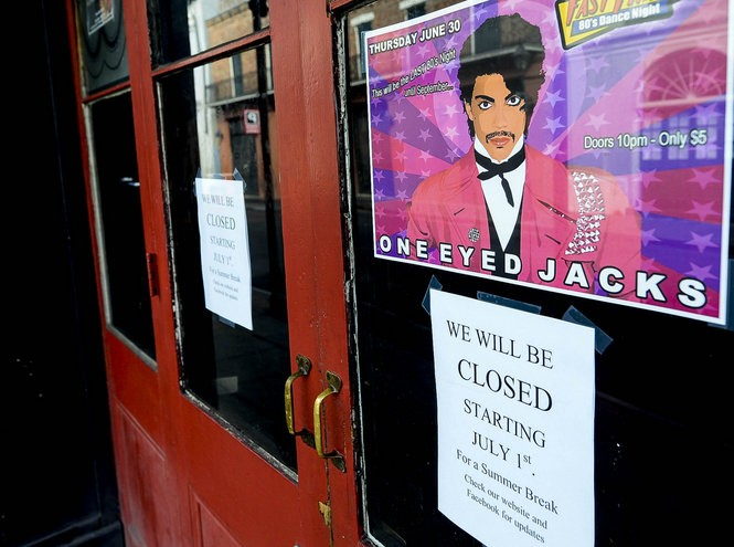 One Eyed Jacks was one of the businesses that closed during Essence. (Photo by Maggie Andresen, NOLA.com | The Times-Picayune)