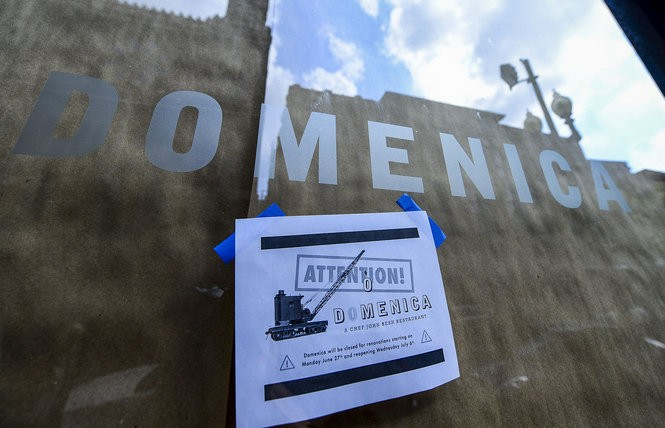 Domenica scheduled renovations during the weekend when Essence took place. (Photo by Maggie Andresen, NOLA.com | The Times-Picayune)