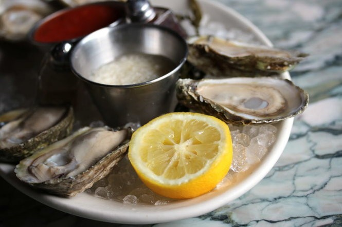 Raw oysters are a main attraction at Seaworthy. (Photo by Todd A. Price, NOLA.com | The Times-Picayune)