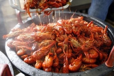 Where can I get crawfish? The Social Media Center has answers to visitor queries.