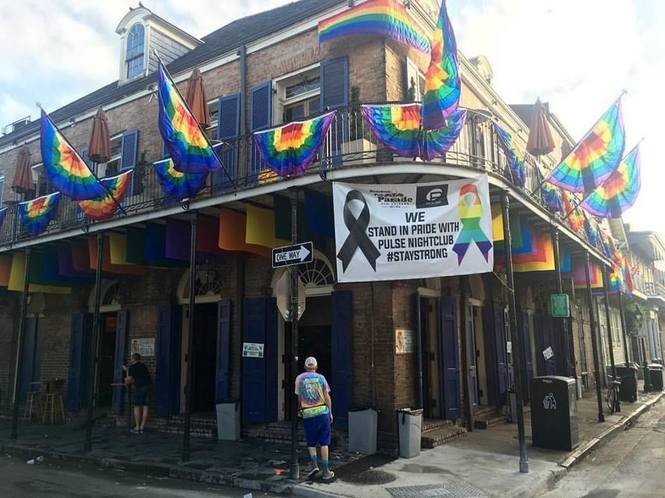 The Bourbon Pub at the Corner of St. Ann and Bourbon streets, Friday, June 17, 2016.