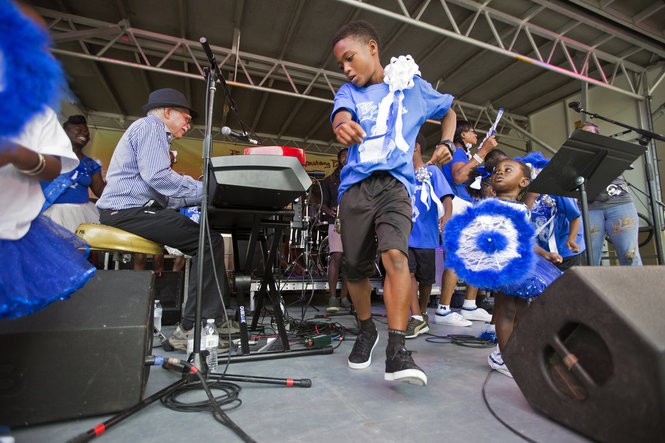 Scenes from Jazz in the Park at Louis Armstrong Park in New Orleans Thursday, September 3, 2015. People United for Armstrong Park produced the free outdoor music concert that featured performances by Jon Cleary and the Absolute Monster Gentlemen, Charmaine Neville, and DJ Rik Ducci. (Photo by Brett Duke, NOLA.com | The Times-Picayune)
