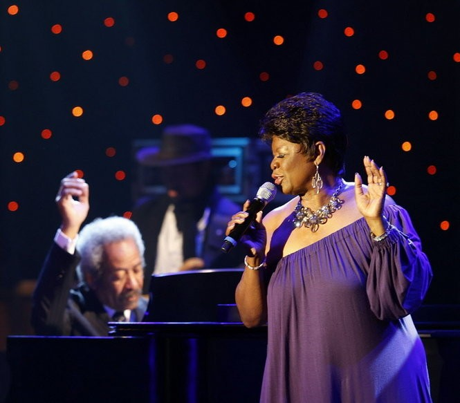 Irma Thomas and Allen Toussaint perform at 'A Tribute to Toussaint' on April 30, 2013. The benefit for the New Orleans Artists Against Hunger and Homelessness also celebrated Toussaint's 75th birthday and his legacy as a Rock 'n' Roll Hall of Fame songwriter, producer and pianist. (Photo by David Grunfeld, NOLA.com | The Times-Picayune archive)