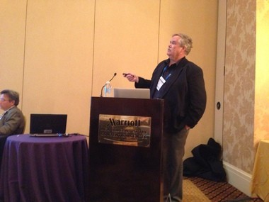 University of Tennessee-Knoxville environmental biology professor Terry Hazen at the American Chemical Society national meeting on Monday.